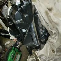 ハンドルストッパー 溶接修理 バイク