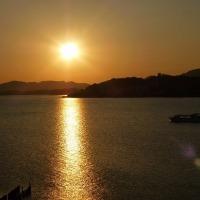 島根旅行 2日目 宍道湖畔を散策&夕日編