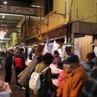 大宮総合食品地方卸売市場へ行く。