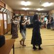 夜の部 盆踊りの練習です。