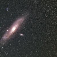 7cmで撮ったアンドロメダ銀河M31