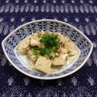 いり豆腐3
