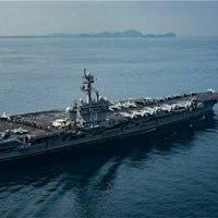 米空母、朝鮮半島に向かう前に豪と演習 当局の情報錯綜