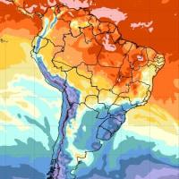 南米の天気は乾燥気味?