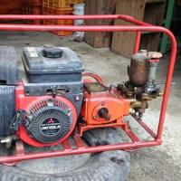 動力噴霧器の整備