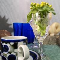 アフタヌーン◎カフェ・菜の花が・・・