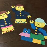 レゴ人間 製作中