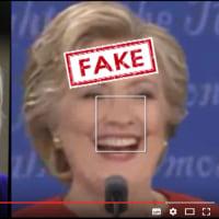 ついに偽ヒラリーを立証:反論不可能な証拠:全米国民必見の動画!