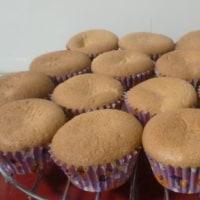 栗カップケーキ
