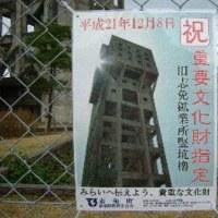 NHKこころ旅ー福岡県-4(志免町立坑櫓)
