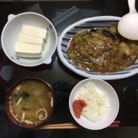 6月24日夕食麻婆茄子