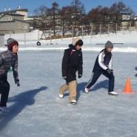 学校のスケート授業