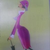 ガス会社の冊子の絵