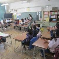 今日の学校風景【2月24日(金)】