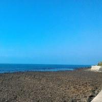 青い海、青い空
