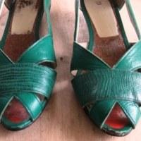 女性用靴の修理