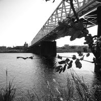多摩川 渡し場跡