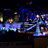博多駅のイルミ