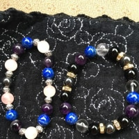 私が、私の為に、初めて作った数珠【ストーンにヒビが入る】