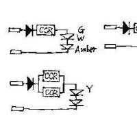 二輪車パイロットのLED化 (回路図を追加)
