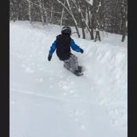 今週のスノーボード