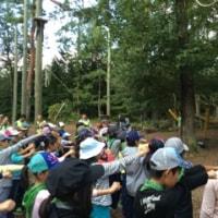 3日目 国際自然大学校 始まりました