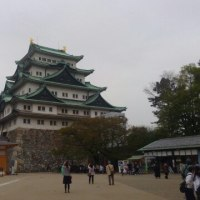 名古屋城の視察。