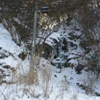 氷瀑の滝・今年も・・・!