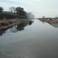 2/18 久し振りに相模川と相模屋鮎竿早期展示会へ行って見ました!相模川へは4か月振りで?