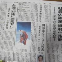 新聞を読んで