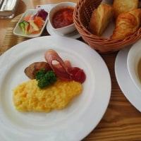 帯広にて朝食を