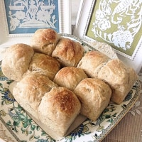 捏ねないパン作り35