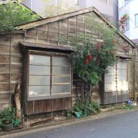 飯田橋の古い家