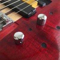 CORT/A5 5弦スルーネック→6弦フレットレス改造