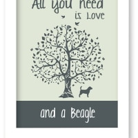 All you need is Love and a Beagle :)