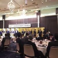 五団体合同新年祝賀会と初詣(*^。^*)