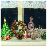 お店はクリスマス仕様