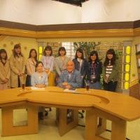 「TBSレビュー」の収録と学生たちの見学