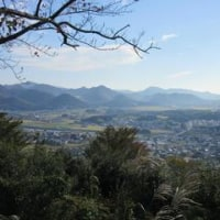 秋の日の播州平野-播磨高野五峰山からの展望