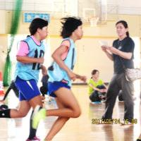 菊川市スポーツ少年団体力テストに参加!