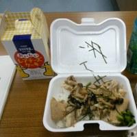 今日の昼食は