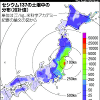 「福島原発の放射性物質、西日本にも」研究チーム解析