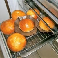 新年に焼いたパン