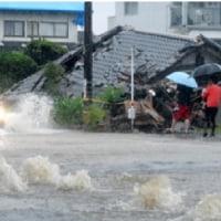 ★【九州各地で非常に激しい雨 住宅に土砂、九州道通行止め】