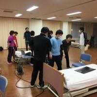松江市にある厚生センター晴雲にて移乗ケアの勉強会2回目と3回目