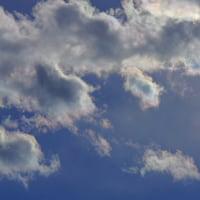2017.1.15 冬の雲と彩雲