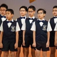 美しいアジアの未来は アジアの子供達の友愛の輪によって創られる
