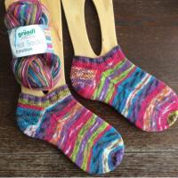 手編み靴下 作品NO.155・156