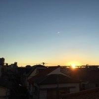 2016.12.10の朝の空。