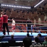 プロボクシングデビュー2戦目...